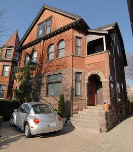 Parking on front Pad / Historic Yorkville