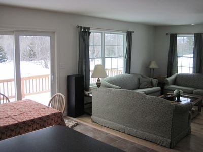 Bar Harbor house rental - Plenty of comfortable seating
