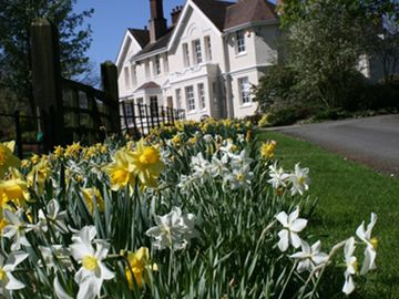 The Manor House in Spring time