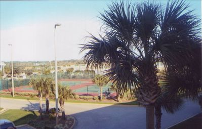 Tennis Courts with Lights