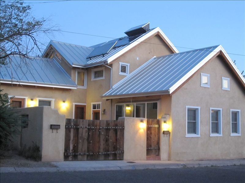 Beautiful spacious adobe house in downtown vrbo for Cost to build adobe home
