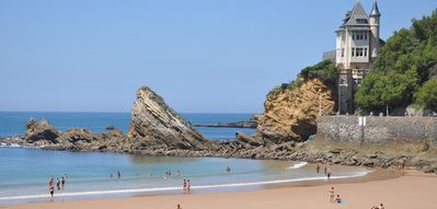 Little haven in Biarritz 50 m from the beach of the Côte des Basques