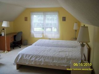 Falmouth cottage photo - Master bedroom, second floor