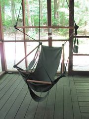 Lee cottage photo - Swing and relax in the air chair