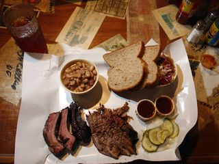 Austin house photo - Ruby's famous all-natural brisket was featured on Anthony Bourdain