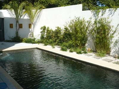 Jungle Zen Villa Pool. Sunshine all day long! Photo taken in the morning light