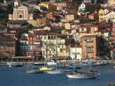 Harbour and medieval houses of Villefranche