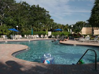 Delray Beach apartment photo - Swimming pool view.