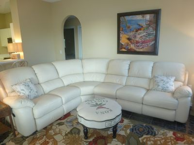 Sarasota house rental - den area