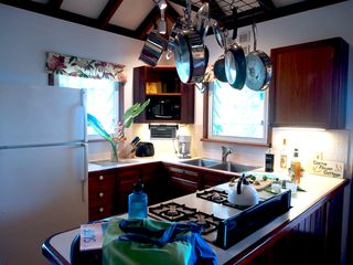 Fish Bay cottage photo - Kitchen and fully stocked Kitchenwear