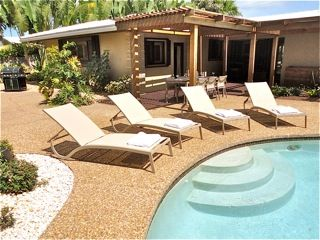 Oakland Park house photo - Grill, outdoor dining table and of course the pool & lounge chairs