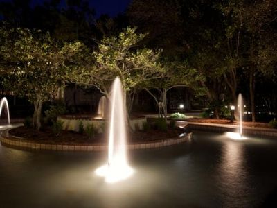 Hidden Dunes cottage rental - Fountains at night are gorgeous!