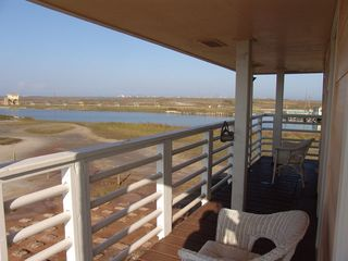 Galveston property rental photo - You can see 50 miles of wetlands