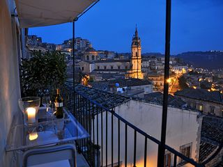 Modica house photo - A romantic aperitif with tasteful sicilian wine from our cellar