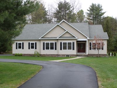 Saratoga Springs house rental - Beautiful New Home! Private, but minutes from the track and town... Perfect!