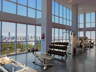 Palermo apartment photo - Fully equipped gym with the BEST view of any gym in the world from the 30th FLR.