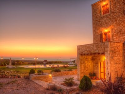Wonderful stonebuild villa with amazing panoramic sea-country views