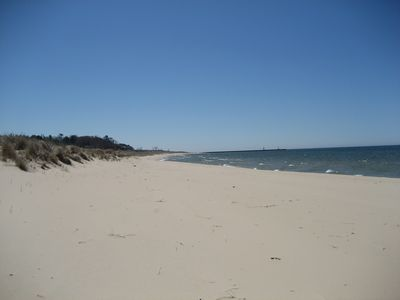Montague cottage rental - Beach which is only a 5 minute walk away.