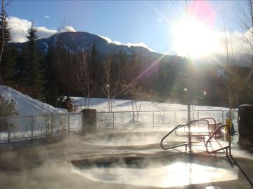 Slopeside Hot tubs!