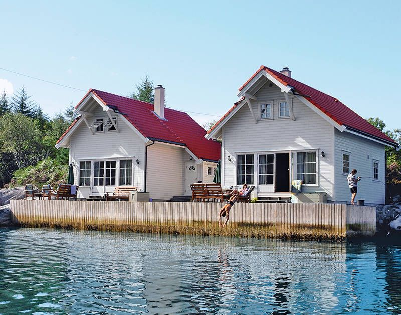 Vacation home Bergen  in Hauglandshella, Western Norway - 8 persons, 3 bedrooms