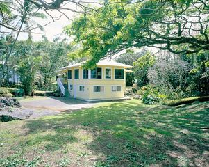 Hilo house photo - At the Beach: House positioned on a full acre