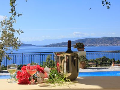 Exclusive hilltop villa, with astonishing view, - ''ANNA'', fully a/c
