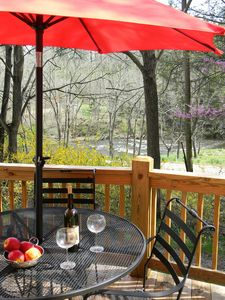 Waynesville cottage rental - WHAT A SPOT TO ENJOY