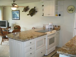 Honokowai condo photo - Kitchen with Granite Countertops
