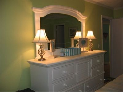 Seaside Escape Ocean City condo rental - Dresser w/ Mirror