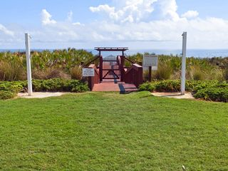 Palm Coast condo photo - You'll love our private beach access walks