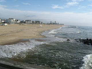 Beach viewed from the south end of Ocean Grove - Ocean Grove house vacation rental photo