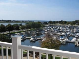 You overlook the Marina... rental slips available
