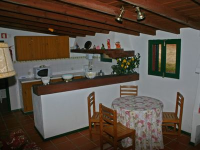 Mangues bungalow 2 living room & kitchen