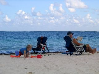 Puerto Morelos condo photo - Our Beach is perfect for kids!