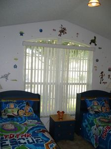 Twin beds with Toy Story Theme