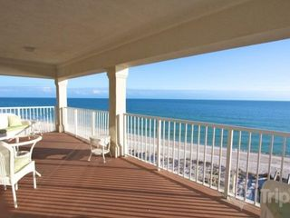 Orange Beach condo photo - HUGE balcony with gulf-front views