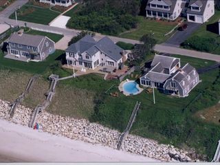 Dennis Village house photo - Aerial from Beach Side