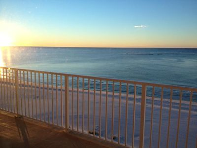 Gulf Shores condo rental - Sunrise on the Balcony ! :)