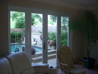 Family Room View to the Spa Pool