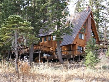 Tamarack chalet rental - View From the Seasonal Creek