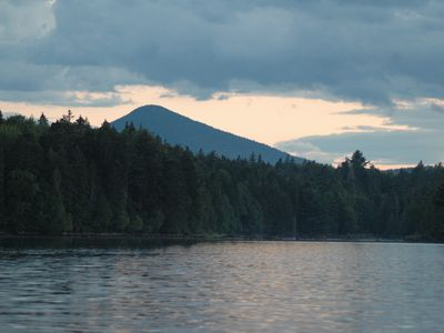 View of Pickett Mountain from the Lake