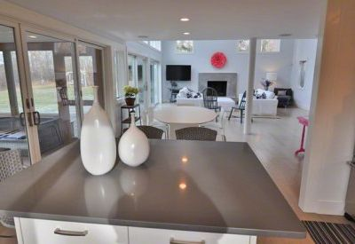 Chilmark house rental - Kitchen Integrates With Dining Area & Great Room For Easy Entertaining