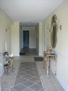 Foyer and entry hall
