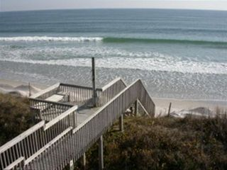 Amazing single family oceanfront vacation homeaway for Jolly roger pier fishing report