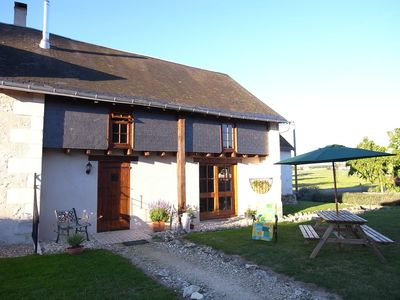 Rustic Gites in typical French countryside with heated, covered swimming pool  - The Dairy