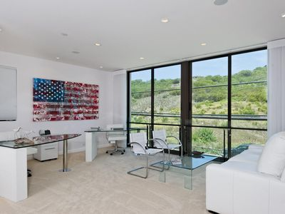 Malibu house rental - Office/Bedroom