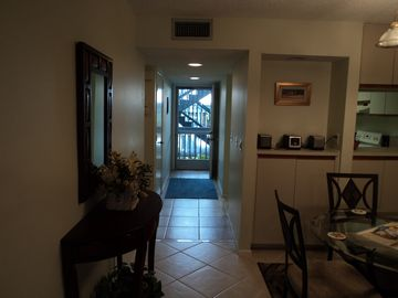 First floor condo with car port 15 feet from the front door!