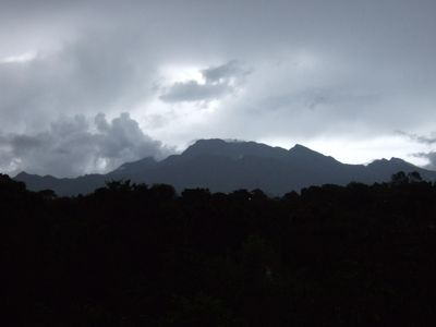 Volcan Baru ( can you see the pregnant Indians' face starting at the right hand)