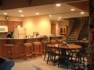 Stratton Mountain condo photo - Obertal Kitchen/ Dining