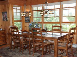 Orleans house photo - Dining table for 8-10 in great room. Cottage has another large dining table also